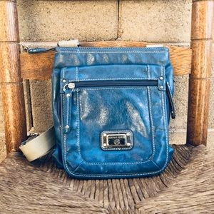 Franco Sarto Blue Crossbody Purse/Bag